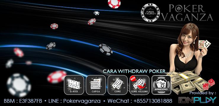 cara withdraw pokercc